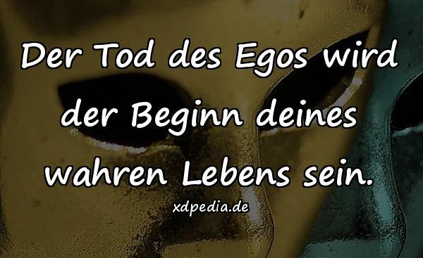 Der Tod Des Egos