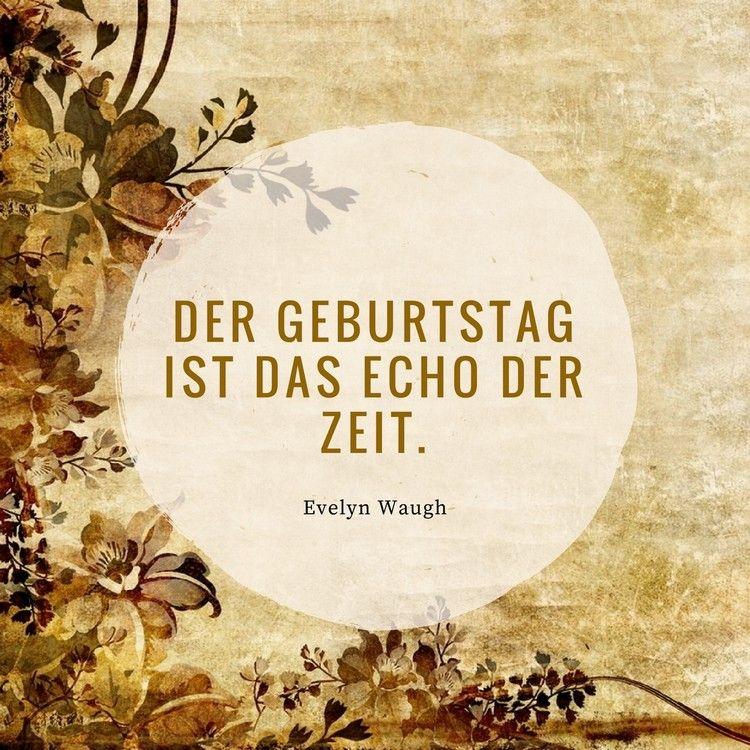 Der Geburtstag Ist Das Echo Der Zeit Evelyn Waugh