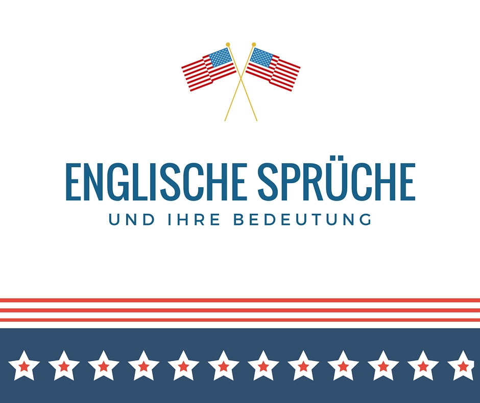 Englische Spruche