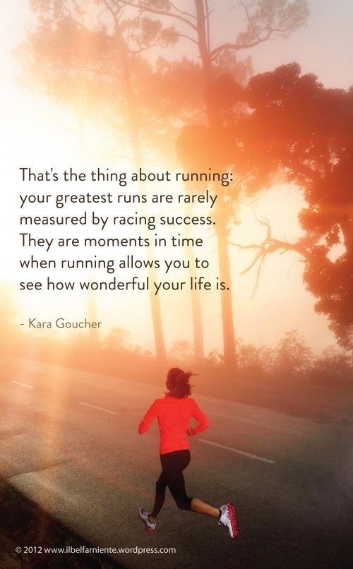 Nothing Clears Your Mind Better Than A Run Leave It All Out On The Road