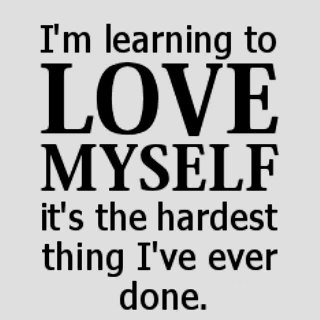 Famous Loving Yourself Quotes Learning It Is The Hardest Thing Everare You Circular Couple Daily Words