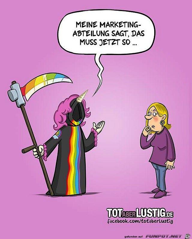 Der Tod Der Sensenmann Einhorn Funny Witze Pinterest Sensenmann Tod Und Einhorner
