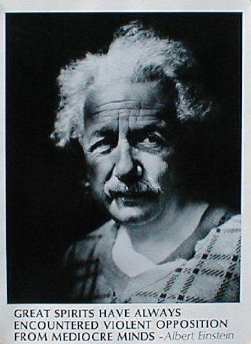 X Poster Print Albert Einstein Great Spirits Innerwallz
