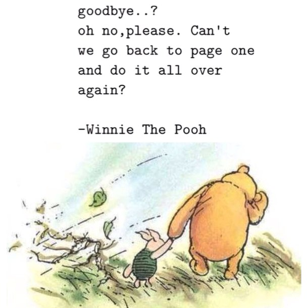 On Goodbyes