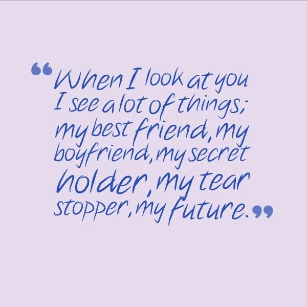 I Love My Boyfriend Quote Picture Quote