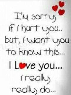 Love Quotes On Saying Sorry To
