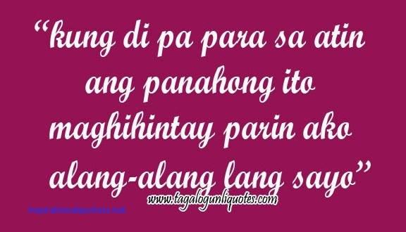 Inspirational Love Quotes Text Messages Tagalog Hover Me