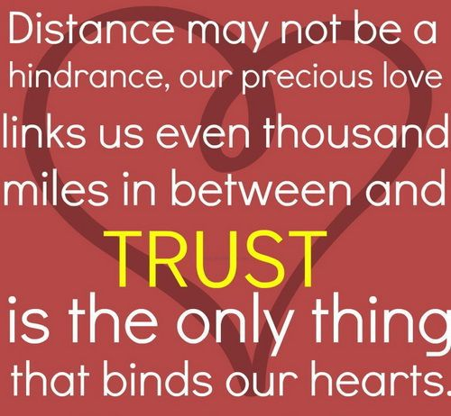 Description Long Distance Love Quotes For Him And Her