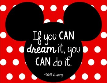 Inspirational Walt Disney Quotes For The Cl Room