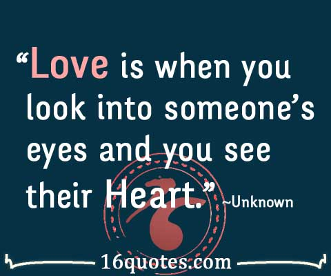 See Their Heart Quote