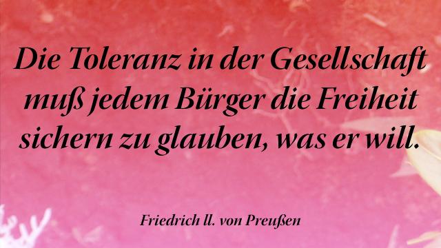 Spruchbild Bildspruch Toleranz In Der Gesellschaft Mus Jedem Burger Henrik
