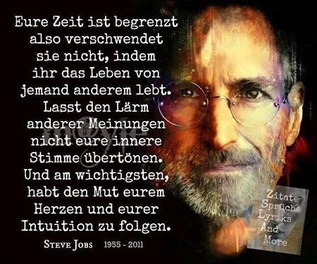Zitate Traueranzeigen Steve Jobs