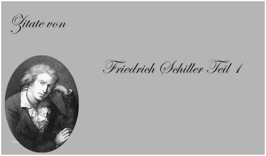 Zitate Geburtstag Goethe Inspiration Schiller Zitat Geist