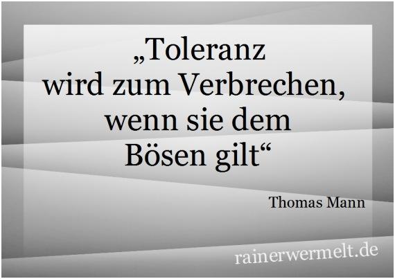Zitate Toleranz
