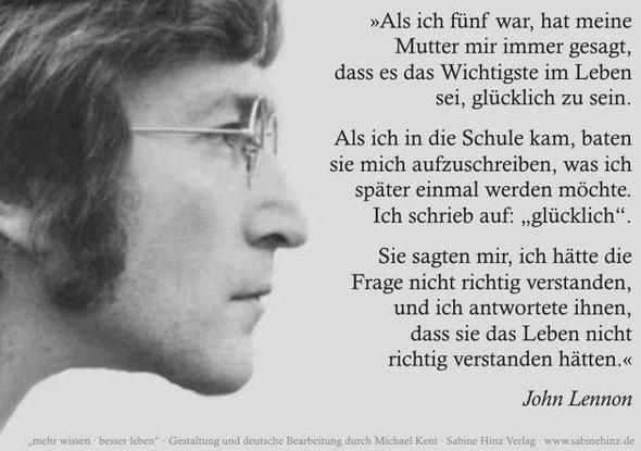 Zitate Liebeskummer Deutsch John Lennon