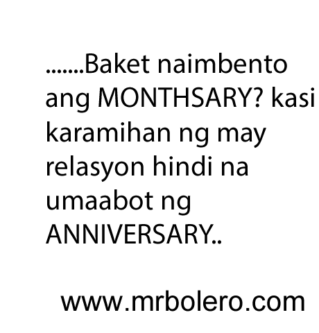 Tagalog Monthsary Quotes Anniversary Quotes