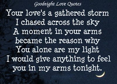 Good Night Love Quotes For Wife Girlfriend Husband Or Boyfriend