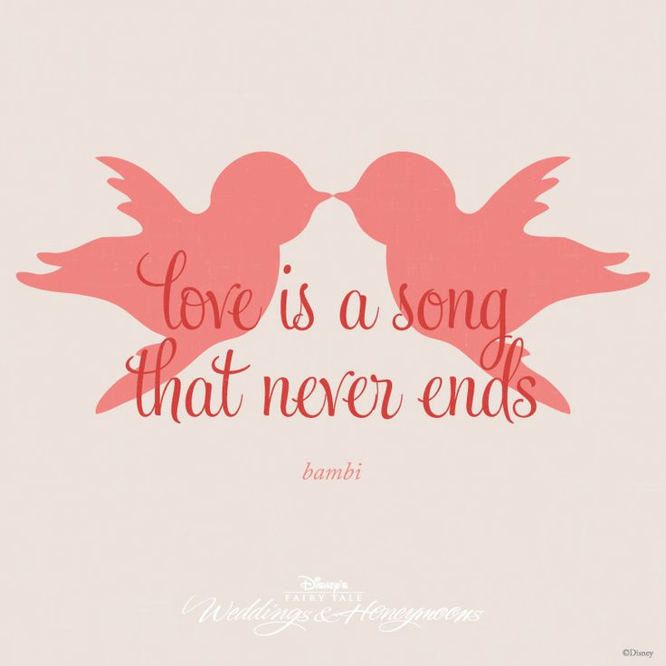 Love Is A Song That Never Ends Quote