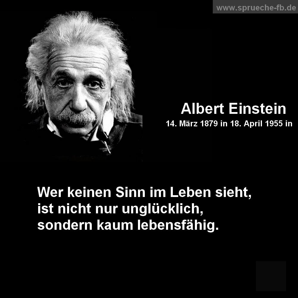 Albert Einstein Spruche