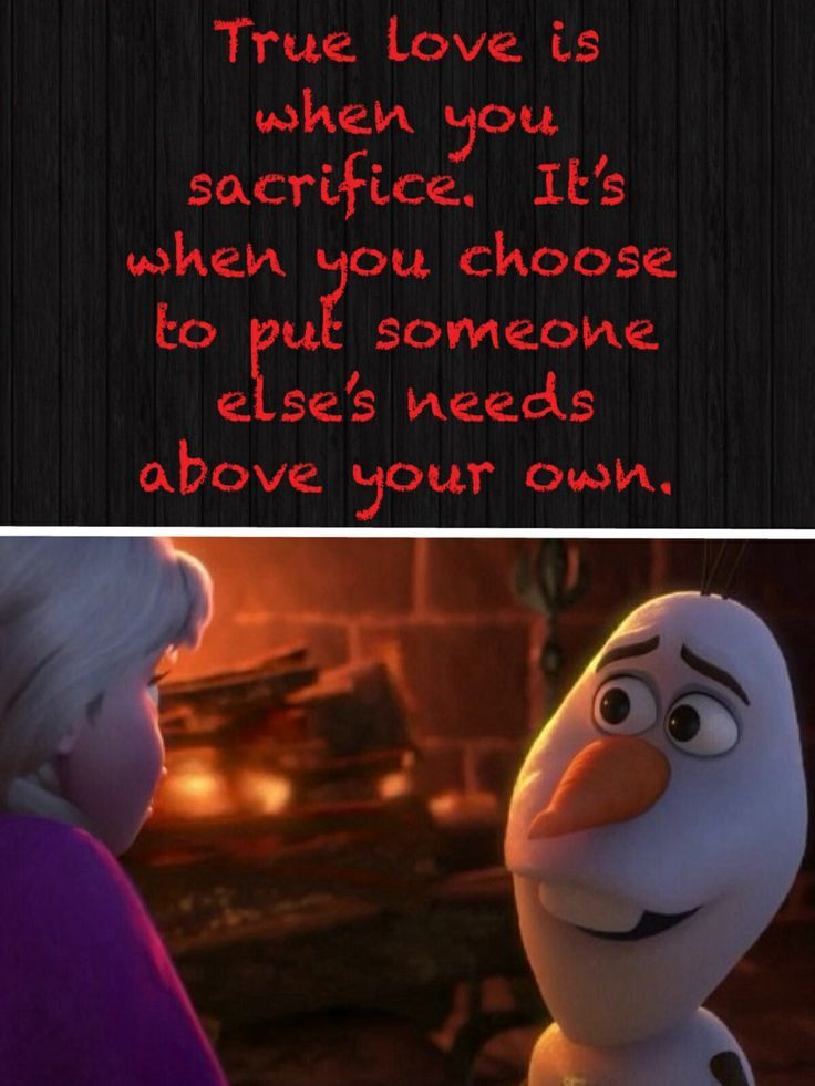 True Love From The Movie Frozen Olaf Is My Favorite