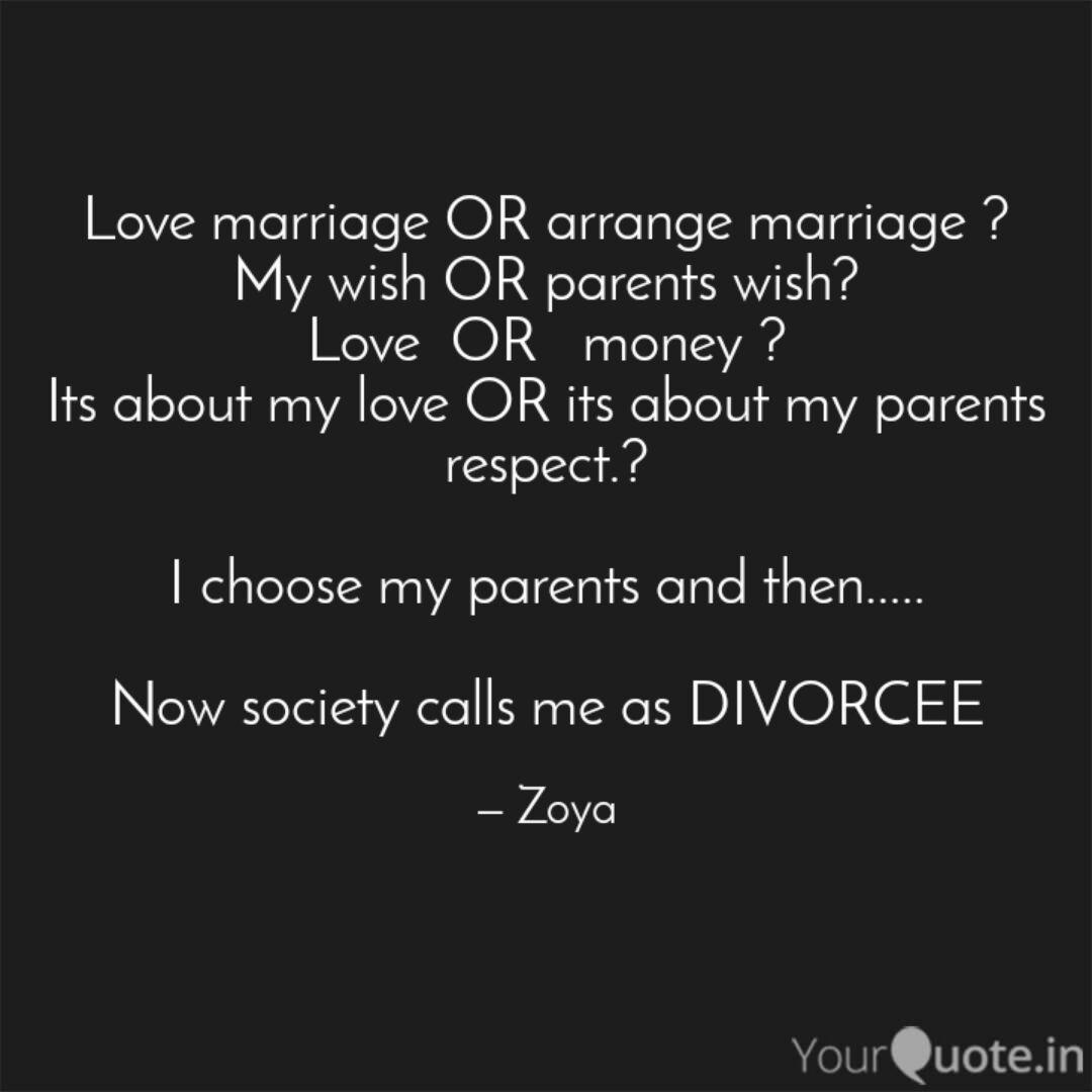 Love Marriage Or Arrange Marriage My Wish Or Parents Wish Love Or Money