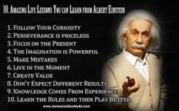 Faszinierende Lehren Aus Dem Leben Von Albert Einstein