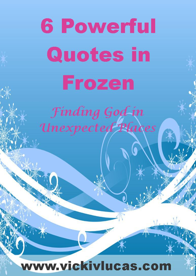 Powerful Quotes In The Movie Frozen