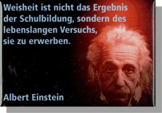 Magnet Einstein Mit Zitat Weisheit