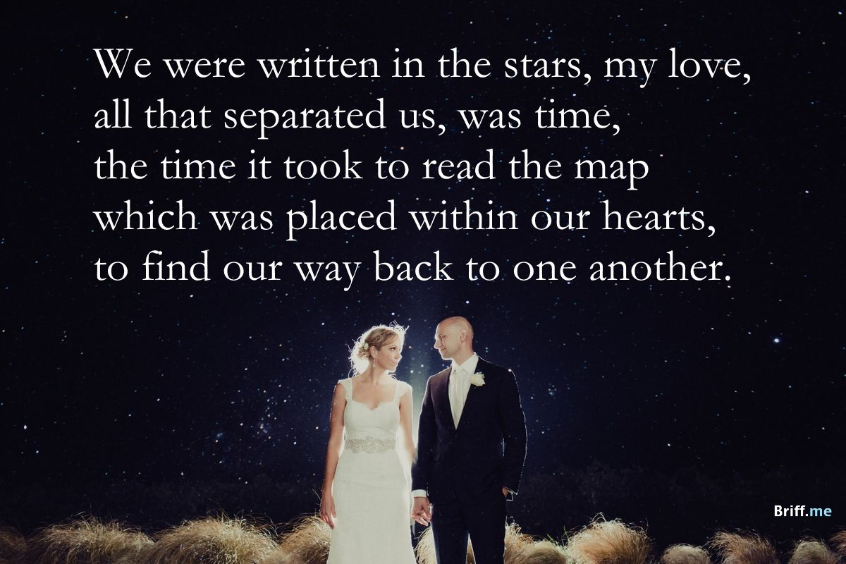 Best Wedding Quotes Stars And Love
