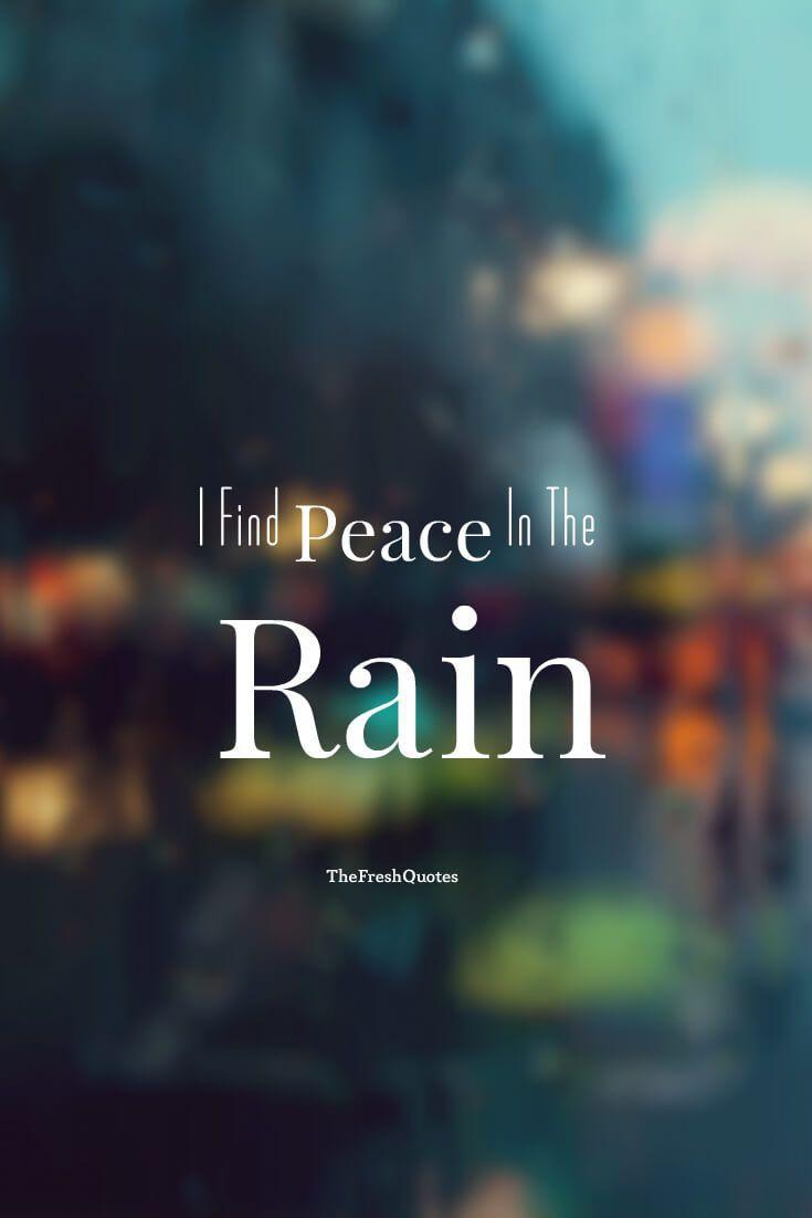 Rain Quotes Romantic Rain Quotes The Fresh Quotes