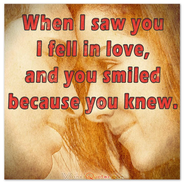 Cute Image With Love Quote For Her