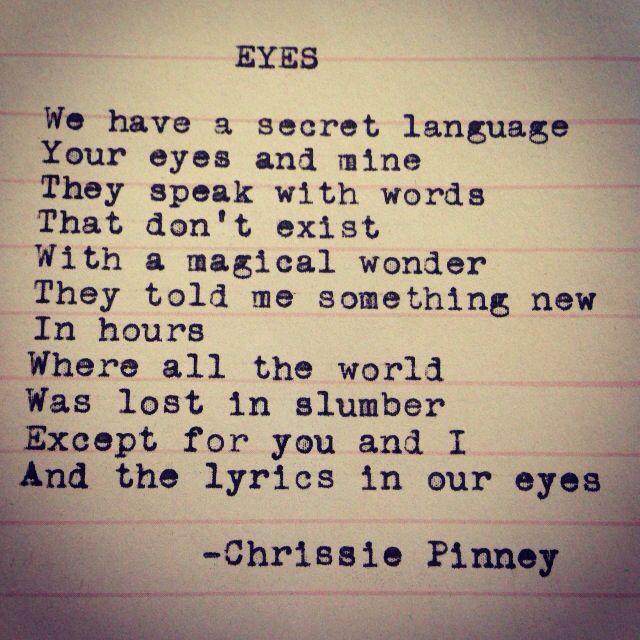 Eyes And Prosper Series No  Eyes Secret Language Lyrics