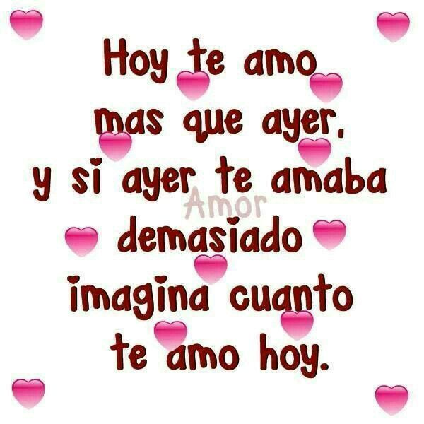 Boyfriend Quotes Spanish Quotes Nice Quotes Romantic Words Romanticism El Amor Quotes Love Love Messages My Wife