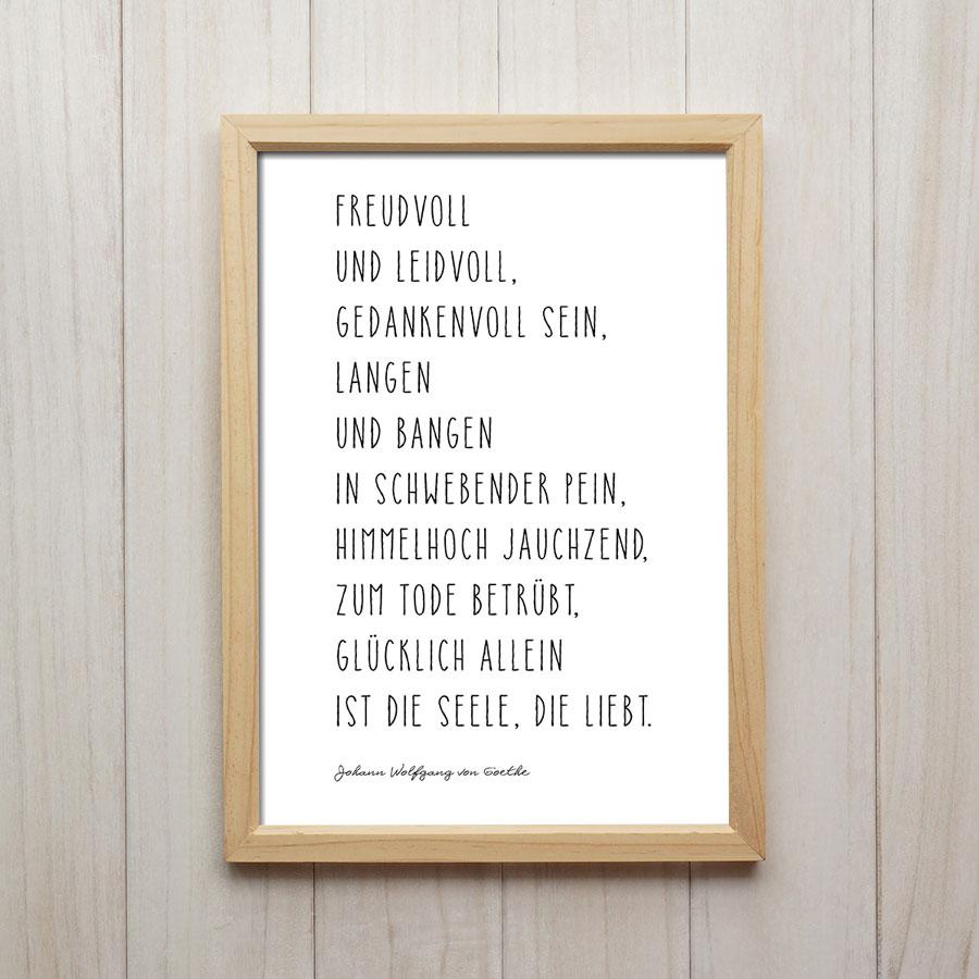 Goethe Zitat Liebe