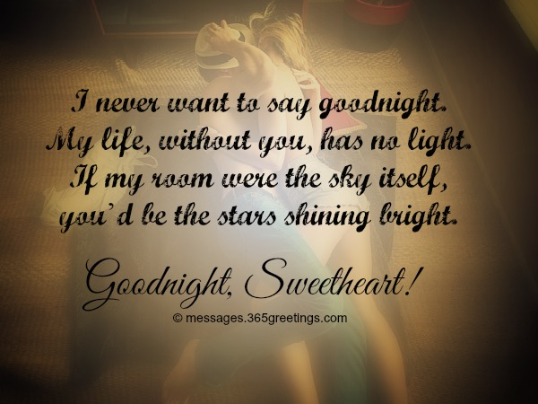 Goodnight Messages Quotes For Her You My Love
