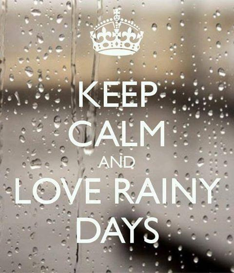 Keep Calm And Love Rainy Days Picture Quote