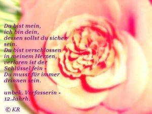 Karin Rohner Liebesspruch