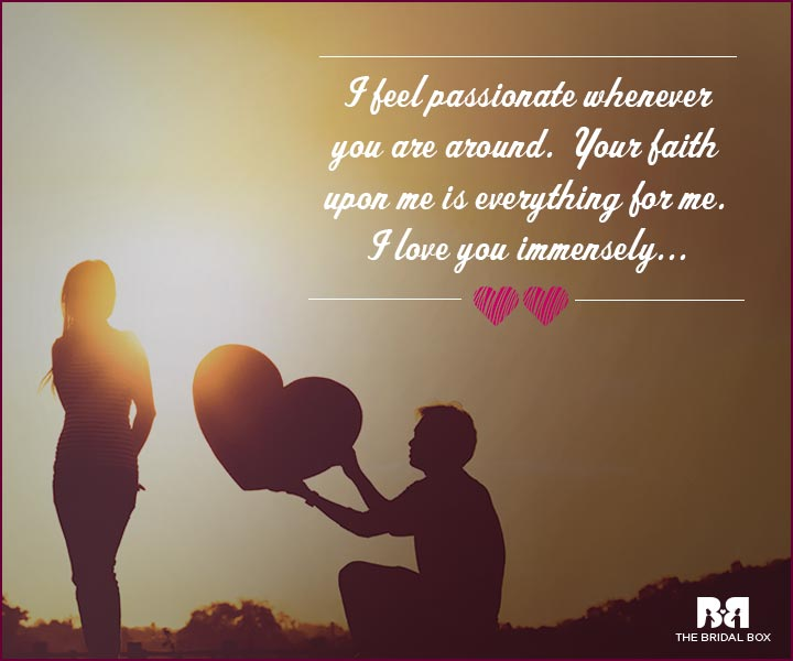 Love Proposal Quotes Your Faith