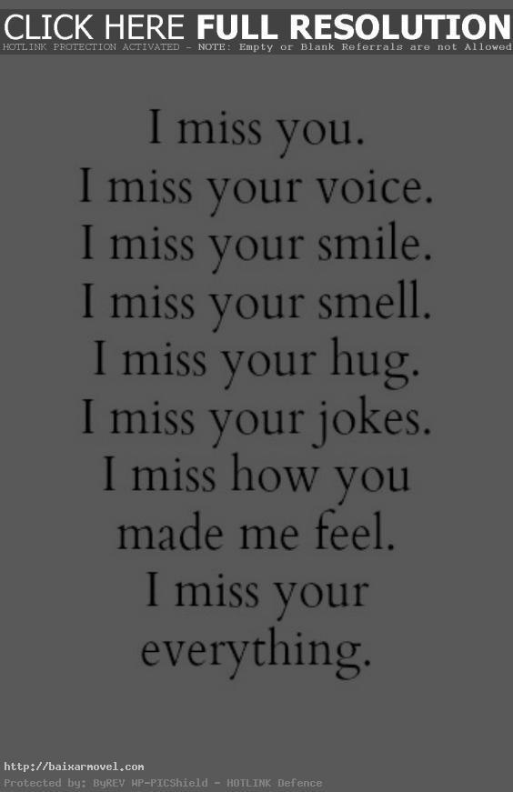 Love Quotes For Your Girlfriend Alluring Quotes About Missing  I Miss You Quotes For Her