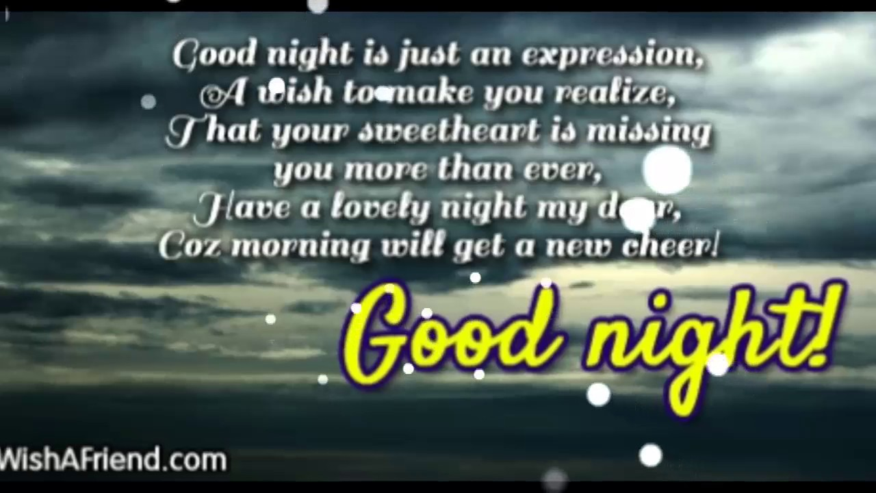 Good Night For Girlfriend Love Quotes Best Wishes Sms Whatsapp For Gf Bf