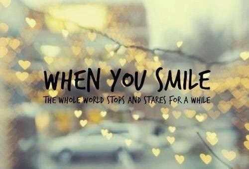 Smile Love Quotes