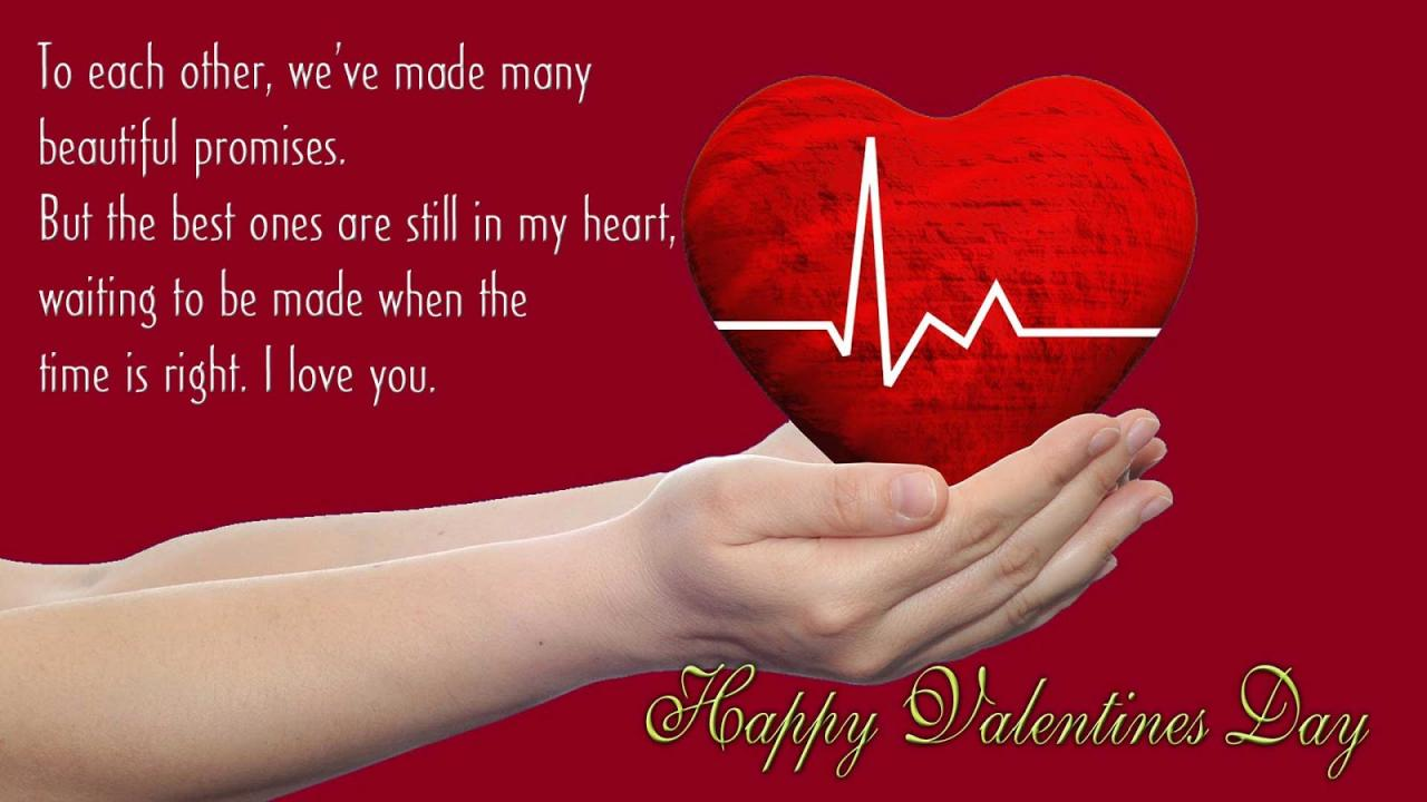 Special Happy Valentines Day  Romantic Messages For