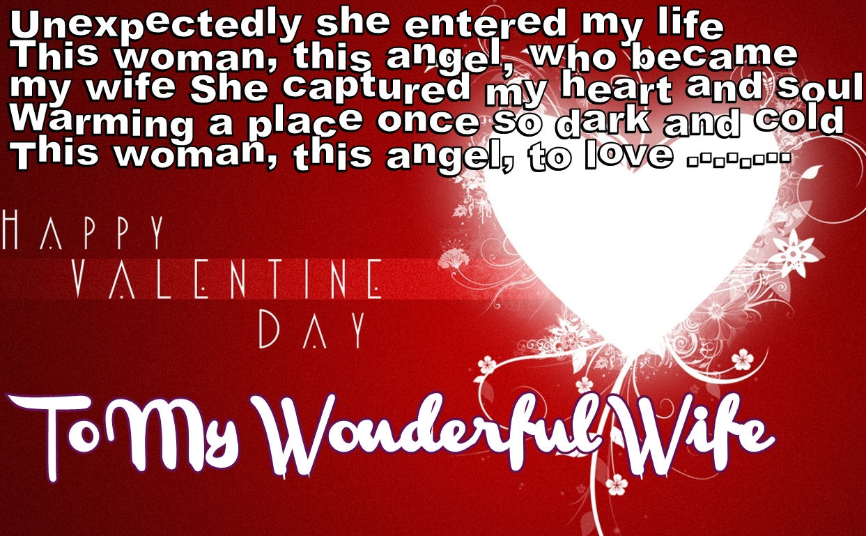 Valentine Love Quotes For My Wife Hover Me