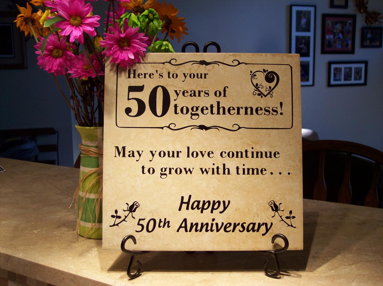 Th Anniversary Tile Or We Can Change The Numbers So It Will Work For Any Year