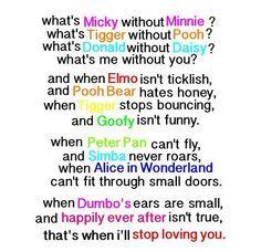 I Love This Poem Cute Quotesdisney