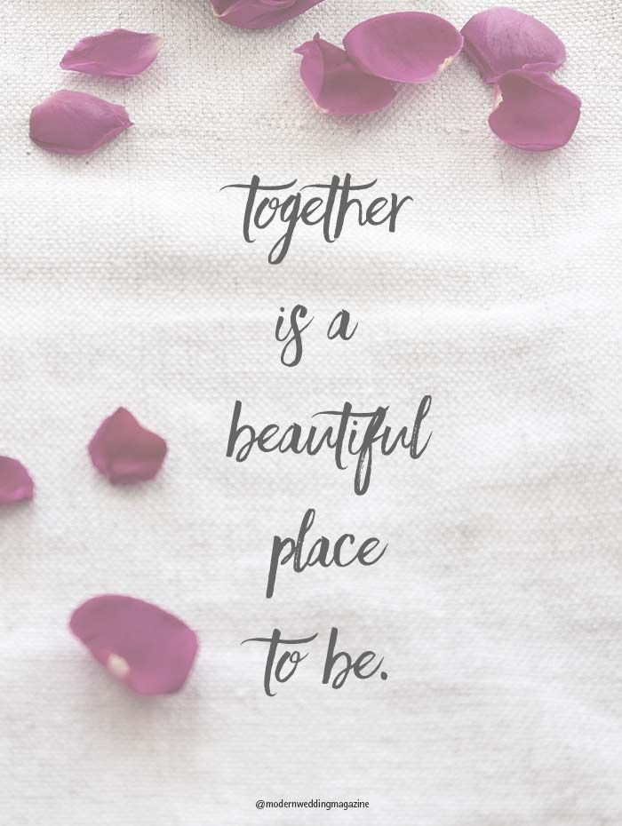 Wedding Day Quotesfeel The Love Https Www Modernwedding Com Au Romantic Wedding Day Quotes That Will Make You Feel The Love
