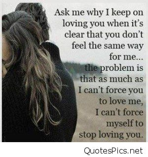 Sad In Love Quotes