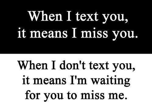 When I Text You Love Quotes For Her