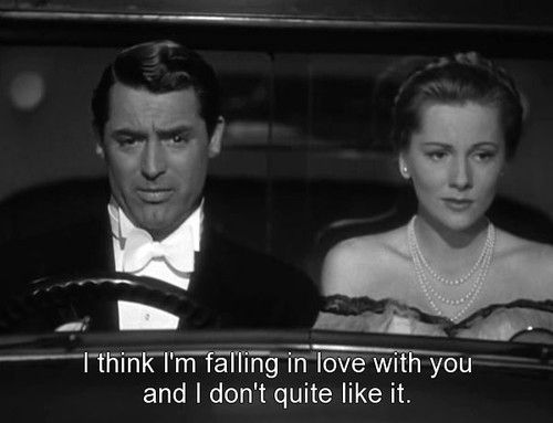Cary Grant And Joan Fontaine Su Ion
