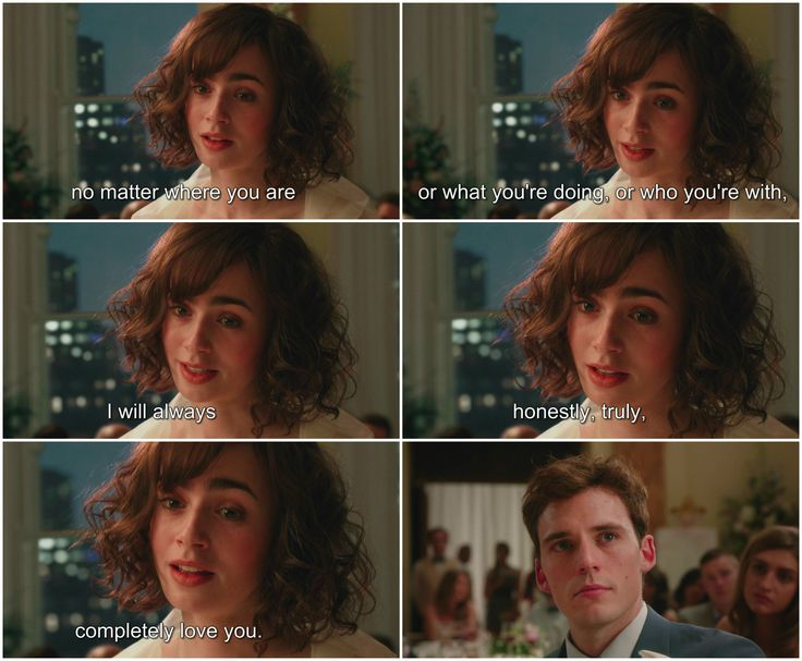 Love Rosie Lily Collins Sam Claflin